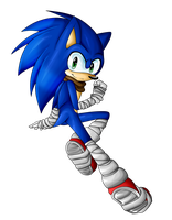 .:Sonic Boom:. Sonic by KayeilE