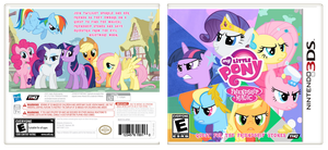 MLP: FiM 3DS by elviswjr