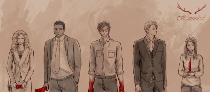 Hannibal : The Red by mrok2648