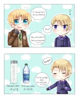 APH- America and Norway's conversation. by bun-niii