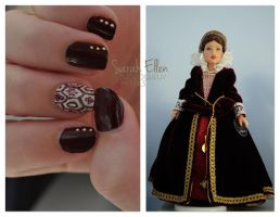 Doll Challenge: Tudor Nails by RobertsPhotography