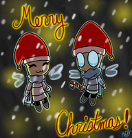 Merry Christmas :D by KittyCatAddict