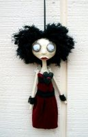 Valentine art doll ornie by Miss-Millificent