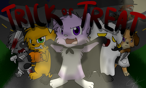 Trick or Treat by Caramelcat123