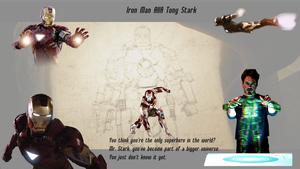 Iron Man Tony Stark Wallpaper by WildHorseFantasy