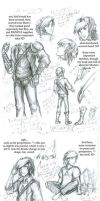 LOZ:PN:Link evolution sketches by Crownflame