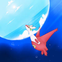 Got yo head in the clouds by Opheleus
