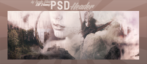 PSD Header: Lonely Girl by Tardis-Bluee