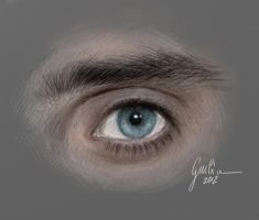 Jared Leto's Eye by JuliaFox90