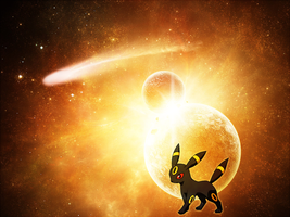 Umbreon Wallpaper by Blekwave