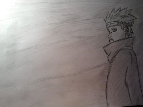 Naruto Pain  draw by anameirelles13