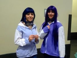 Hinata(s)- Anime Boston 2014 by BloodKaika