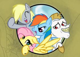 Team Ponyville by MrAsianhappydude