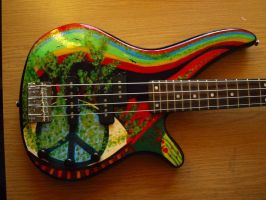 Hippie Bass by Egle-Marija-Kolete