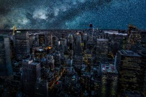NYC, unseen night  by alierturk