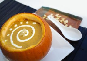 R. Pumpkin Soup 4 by laurenjacob