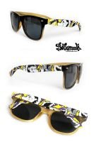 Skunk Sunglasses by Bobsmade