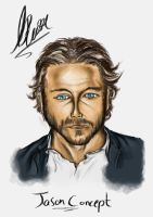 Adult Face Concept by ThomasBrettRussell