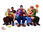 Daily Planet Staff by The-Orange-One