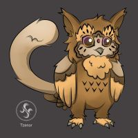 Adoptable First OwlCat [Closed] by Tzenor