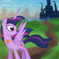Twilight Castle-Request by Isa-Isa-Chan