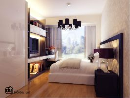 Master Bedroom Park Infinia by deguff