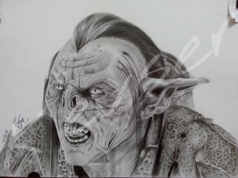 Orc by kevseher