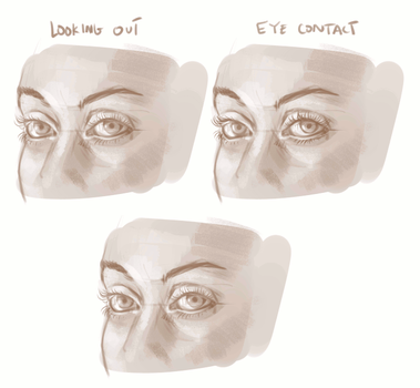 eye contact study by fralea