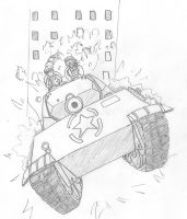 Attack of the M10-Panther by DeSynchronizer