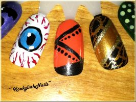 Color Wheel 4 - Close up 3 by KookylmhNails