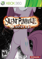 Silent Ponyville: Downpour by nickyv917