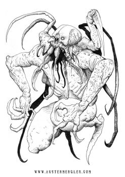 SPIDER-THULHU by AustenMengler