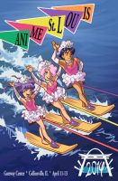 Anime St Louis 2014 Program Book Cover 'Vacation' by kevinbolk