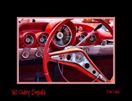 Chevy Impala - Best in Show 005 - Framed by TomFawls