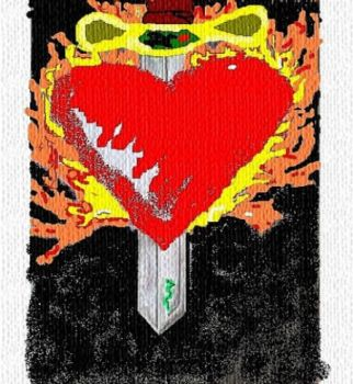 Sacred Heart by juliet