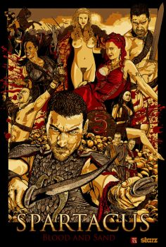 Spartacus: Blood And Sand by wild7even