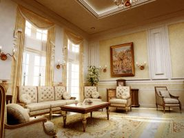 classic interior by aboushady81
