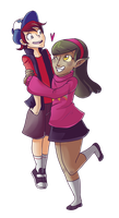 OI: Duo- The Mystery Twins by Miniyuna