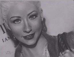 My Christina Aguilera by spolarium626
