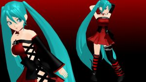 MOTHE  StereoPop Miku by Shion-x-Yiyi