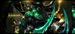 Illidan power of darkness Signature by TamyRT