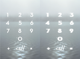 untitled dialer theme by TheWanton