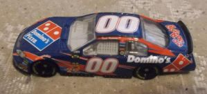 2007 David Reutimann #00 Domino's Pizza car by Chenglor55