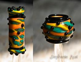 Rasta Bead Prelude by copperrein