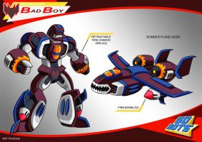 Gobots Animated Bad Boy by PWThomas
