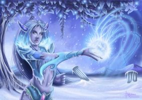 Frost Nymph by PetraImboden