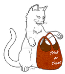 Free Trick or Treat Kitty by J-Dove