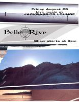 Concert Flyer - Belle Rive 4 by phenoxa