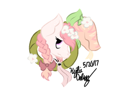 Blooming Tears and Camellia badge for KoalaDrawz by DepressMiiNt