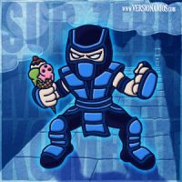 Sub-Zero is hungry by DJMonkeyBoy13